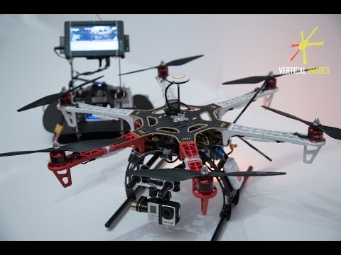 Timelaps - building DJI FLAME WHEEL F550 with NAZA and ZENMUSE