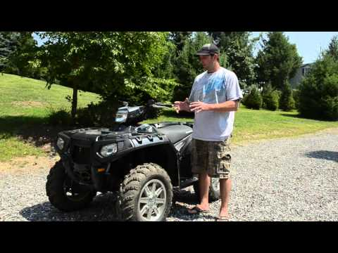 Polaris ATV Maintenance & Repair Tips : Polaris ATV Belt Drive