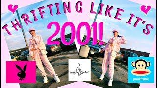THRIFTING LIKE ITS 2001!