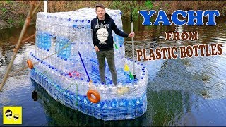 BOAT FROM PLASTIC BOTTLES - DIY