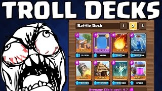 TROLL DECKS!    CLASH ROYALE    Let's Play Clash Royale [Deutsch/German HD+]