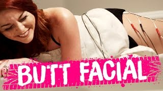 ELECTROCUTING OUR BUTTS?! (Beauty Trippin)