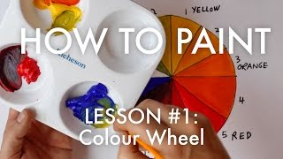 Introduction to The Artist's Colour Wheel - How To Paint #1 - MV20