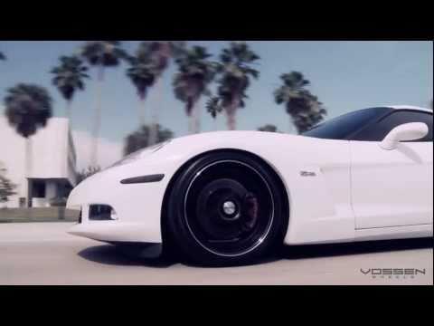 Chevrolet Corvette on Vossen VVS - 087 Wheels / Rims