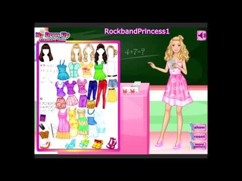 Barbie Online Games To Play Free Barbie Cartoon Game video