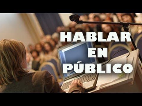 vencer miedo hablar publico: