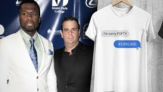 50 Cent Makes $300,000 Off 'Fofty' T-Shirts Off Randall Emmett's Loan