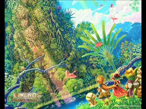 Children Of Mana Music - Track 9 - Peaceful Underground Lake video