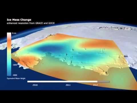 ESA's GOCE satellite senses changing gravity