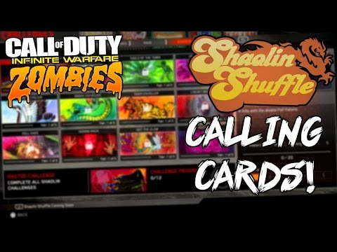 Shaolin Shuffle Calling Card Challenges