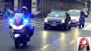 Police Motorcycle Escort - No Hands