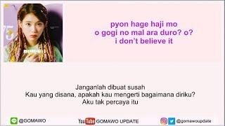 Easy Lyric IU - BBIBBI By GOMAWO [Indo Sub]