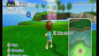 Wii Sports Resort - Frisbee Golf (18 Holes)