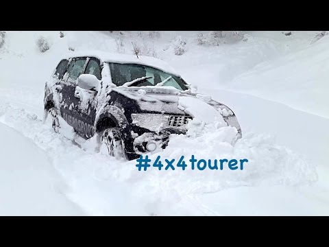 Extreme Snow Off Road with Snow Chains - Mitsubishi Pajero Sport/Montero/Challenger Sport