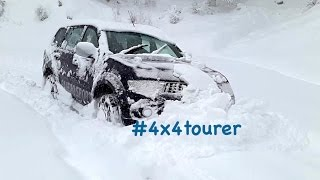 Extreme Snow Off Road - Mitsubishi Pajero Sport /Montero/Challenger Sport in Himalayas (India)