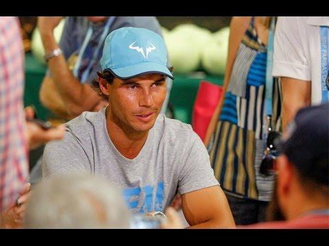 Players on Sharapova Scandal-Rafa Denies Doping-McEnroe, Sampras Reunite