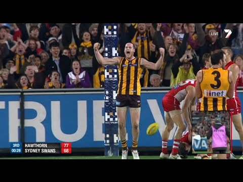 AFL 2014: Round 18 - Hawthorn highlights vs. Sydney