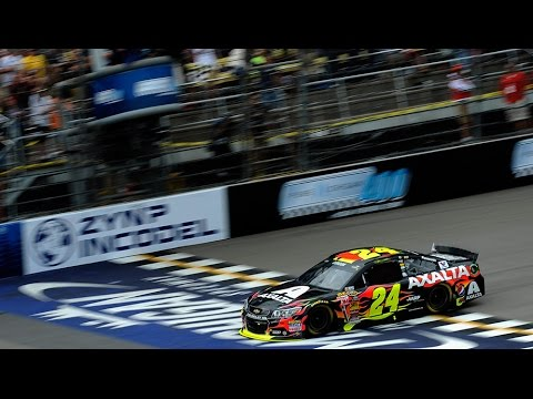 Finish @ 2014 NASCAR Sprint Cup Michigan