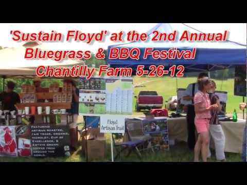 Sustain Floyd at 2nd Annual Bluegrass & BBQ Festival 5 26 12