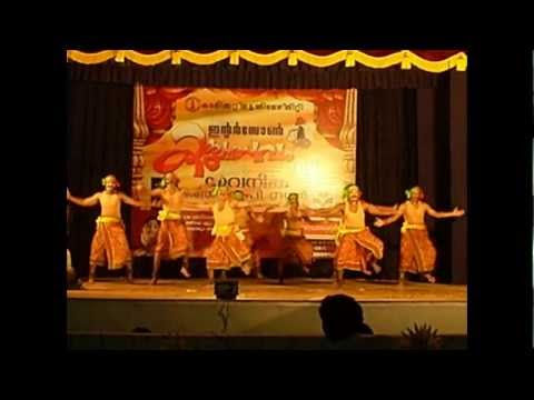 Prize Winning Folk Dance by GEC Thrissur Team (Calicut University Interzone Arts Fest 2008)
