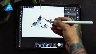 Testing Affinity Designer On My New 11 inch Ipad Pro