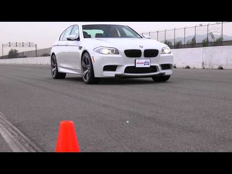 Track Tested: 2013 BMW M5 -- Edmunds.com Video