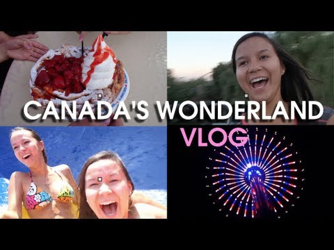 VLOG! Canada's Wonderland & Toronto