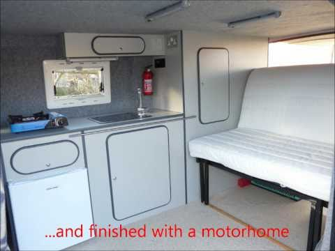 Ford Transit Van To DIY Campervan Conversion