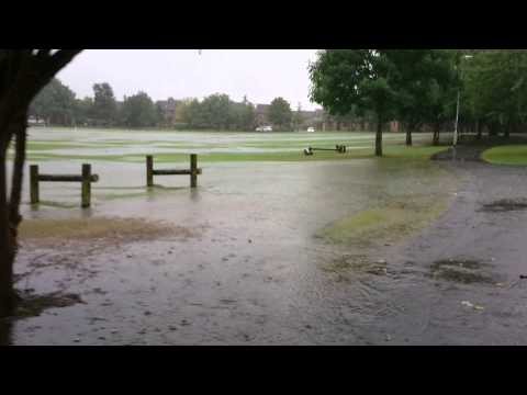 Bar Hill floods Aug 2014