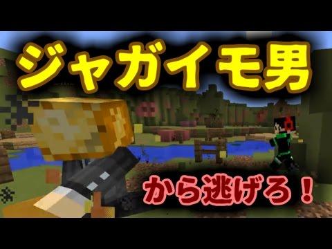 【Minecraft】ジャガイモから全力で逃げる!Hot Potato!!