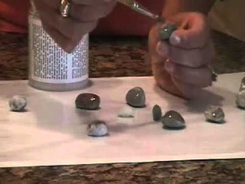 How to Make Stone Pendant Craft Crafting with Nature