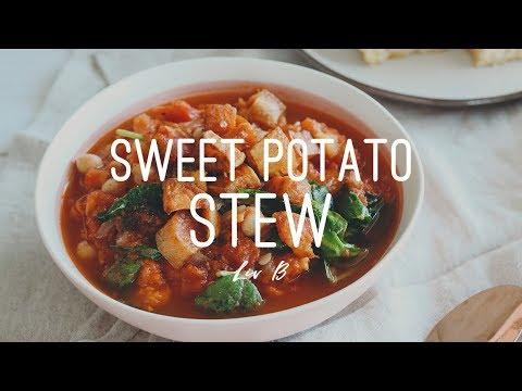 Sweet Potato Stew | vegan + healthy + gluten-free