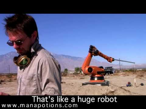 RoboPult .... fireball-throwing robotic catapult