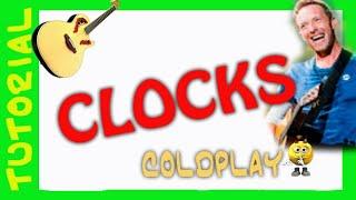 Explicacion de como tocar CLOCKS en Guitarra