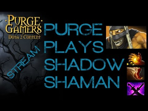 Dota 2 Purge plays Shadow Shaman Sub Game