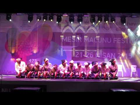 SMA Negeri 28 Jakarta @Manisa International Folk Dance Festival 2015
