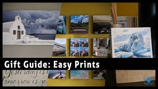 Easy to Display Prints from Mixtiles, Artifact Uprising, Adoramapix- Gift Guide 2017