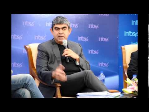Vishal Sikka, CEO and MD, Infosys announces Q4 results
