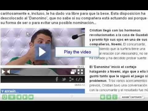 How to Download Online TV Show from telecinco with Flv Grabber