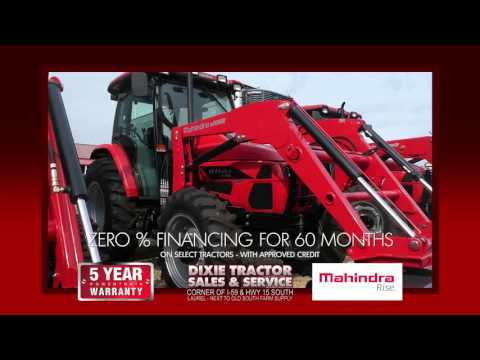 WDAM Commercial - Dixie Tractor Sales & Services - Mahindra