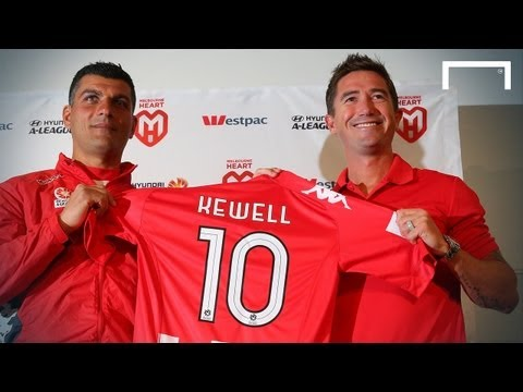 Harry Kewell joins Melbourne Heart