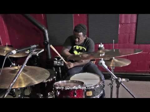 Drums - THE BEST DRUM SHED EVER!!! @ GospelChops.com klip izle