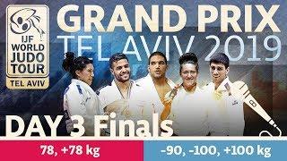 Judo Grand-Prix Tel Aviv 2019: Day 3 - Final Block