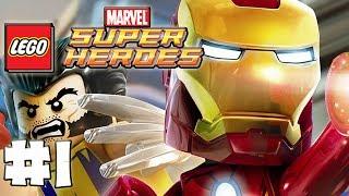 LEGO Marvel Superheroes - Part 1 - Welcome True Believers (HD Gameplay Walkthrough)