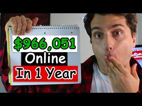 $966,051 In Just 12 Months? My Lazy Ass 2-Hour a Day Blueprint Revealed. (+$300 Cash Giveaway)
