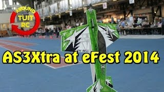 E-Flite UMX AS3xtra overview at eFest 2014