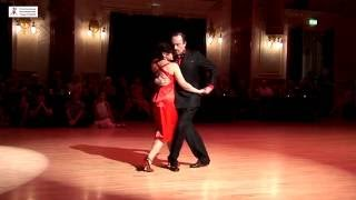 2016 Jolanta and Adrian dance canyengue to La Cumparsita at Cheltenham International Tango Festival