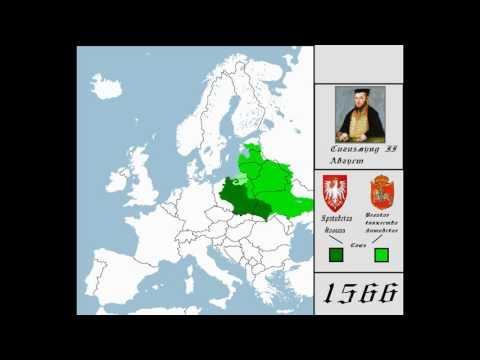История Польши ( 966 - 2016 ) [ Каждые 10 лет ]