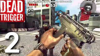 Dead Trigger: Offline Zombie Shooter PART 2 Gameplay Walkthrough - iOS/Android