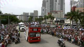 Miami Heats Parade Celebration!